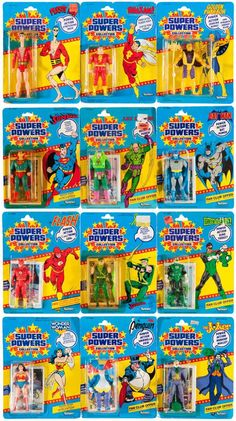 The now legendary Kenner's Super Powers action figure line from the 80's.