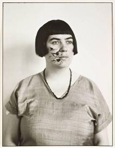 Martha Hegemann photo August Sander (1894-1970) artiste allemande d'avant-garde d'inspiration Dadaïste