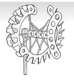 Coloring pages wind chimes ~ whirligig plans free download - Google Search | Making ...