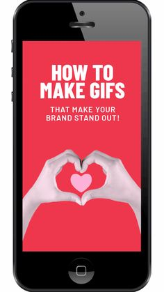 If you are wondering how to make branded GIFs, then you're in the right place because in this post we show you how to make GIFs that stand out! Inbound Marketing, Business Marketing, Social Media Marketing, Digital Marketing, Content Marketing, Marketing Articles, How To Make Animations, Instagram Tips, Instagram Story