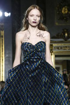 Luisa Beccaria Fall 2015 RTW Runway - Milan Fashion Week