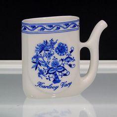Blue Onion Sipping Cup Karlovy Vary Czech Porcelain Viva