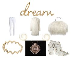 """""""Dreamy"""" by keepsakedesignbycmm ❤ liked on Polyvore featuring Zadig & Voltaire, EF Collection, Barbour, Giamba, jewelry and accessories"""