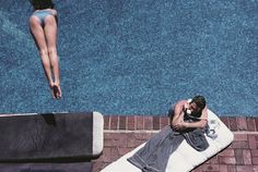 Backyard Oasis  California's Poolside Glamour Captured in New Palm Springs Exhibition
