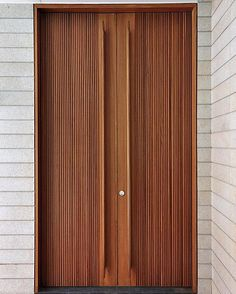 Loving the long, linear door details by K2LD Architects in their C2 Holland Park project in Singapore.... #design #itsallinthedetails #door #interiordesign #designerliving