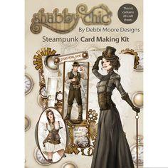 Debbi Moore Designs Shabby Chic Card Kit Steam punk at Joann.com Look friend !!!!