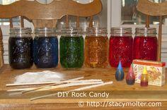 Homemade Rock Candy Recipe - Fancy Shanty