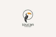 toucan bird logo by cairon on @creativemarket                                                                                                                                                                                 More