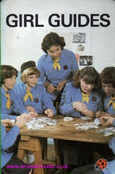 Girl Guides 1980   This is what my uniform looked like! Sharon and I were in Girl Guides together in England.