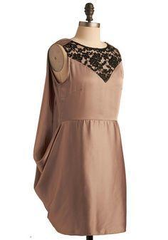 Taupe Wings Of Wonder dress