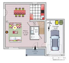plan habill maison une maison bioclimatique bon prix