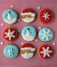Xocolat and co - Christmas cookies / Galletas Navidad                                                                                                                                                                                 Más