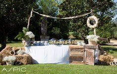 Boda en Castell de Sant Marçal, catering Aspic y decoración de Singular Envit. #catering #boda #evento #decoracion