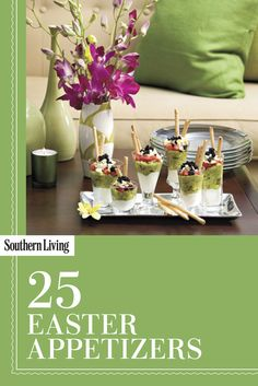 Easter Appetizers | Serve these delicious Easter appetizer recipes at your Easter Sunday celebration or any spring party.