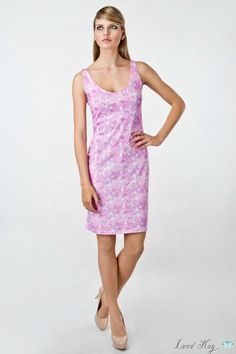 Honeycomb cotton dress by Land Kay. 95% Cotton, 5% Lycra. Please leave a request through http://landkay.com/en/lookbook.php