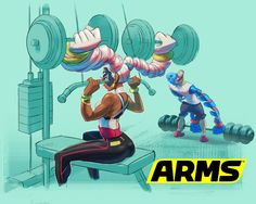 ARMS work out
