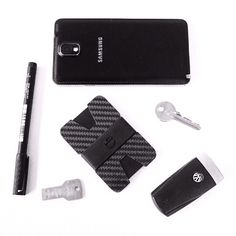 X wallet carbon fiber slim minimalist