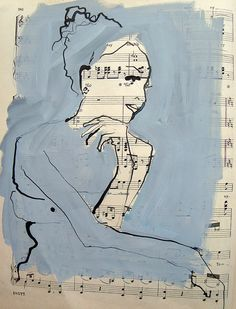 piano girl by bridget davies