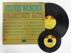 Vintage 1968 Motown Stevie Wonder Greatest Hits Record, TAMLA 33 RPM, NEAR MINT