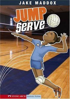 Jump Serve (Jake Maddox Girl Sports Stories) by Jake Maddox http://www.amazon.com/dp/1434205207/ref=cm_sw_r_pi_dp_q04Twb11TXJFA