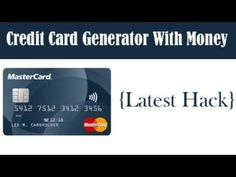 The 10 Common Stereotypes When It Comes To Visa Card Generator With Money | visa card generator with money Types Of Credit Cards, Best Credit Cards, Amazon Credit Card, Visa Card Numbers, Make Cash Online, Capital One Credit Card, Amex Card, Credit Card Services, Credit Card Hacks