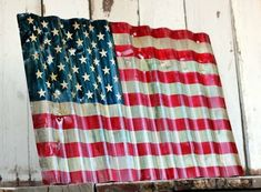 sign- Industrial, Rustic, Home Decor, Wall Art, Patriotic. by mandy