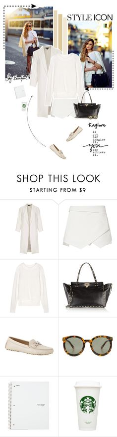 """""""No 236:My style icon is Kayture"""" by lovepastel ❤ liked on Polyvore featuring mode, Topshop, Valentino, Salvatore Ferragamo, Karen Walker et styleicon"""