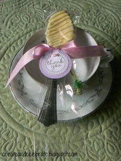 Create  Celebrate: Bridal Tea Party Favors
