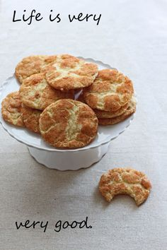 1 dozen snickerdoodles:  small batch for a big craving #dessert