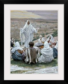 Harry Anderson WHAT HAPPENED TO YOUR HAND 20x15 Jesus S//N Antique Paper Print