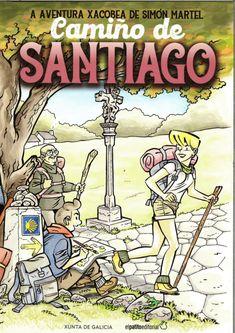 A aventura xacobea de Simón Martel Comic Books, Comics, Camino De Santiago, Trekking, Adventure, Cartoons, Cartoons, Comic, Comic Book