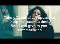 summer wine - lana del rey