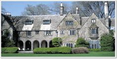 """Edsel and Elanor Ford House, Grosse Pointe --Grosse Pointe was fun to drive through and see how how the """"rich folks"""" lived!"""