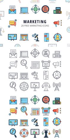 We present you Marketing Vector Free Icon Set Web Design, Icon Design, Flat Design, Icons Web, Vector Icons, Marketing, Science Icons, Journal Fonts, Sketch Notes