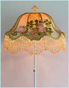 How to make victorian lampshades tutorials pinterest victorian lampshade aloadofball Gallery