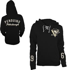 Old Time Hockey Pittsburgh Penguins Women s Queensboro Lace Hooded  Sweatshirt - Shop.NHL.com 8f65778c5
