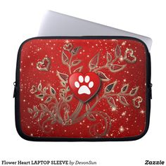Choose from a variety of Gold laptop sleeves or make your own! Shop now for custom laptop sleeves & more! Twinkle Star, Matching Gifts, Laptop Case, Dog Mom, Laptop Sleeves, Dog Lovers, Stars, Flowers, Red