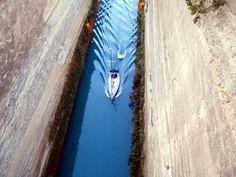 Amazing  Corinth Canal !