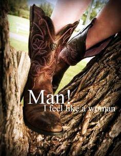 Man! I Feel Like A Woman, Shania Twain