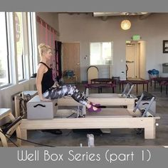 Have you ever challenged yourself to see how long you can leave the box on the reformer before taking it off. I hate taking the box on and off during classes as it stops the flow. So when I put the box on I want to get as much work out of it as possible. Here is a series with the box placed over the well of the reformer. I had to break it up into 2 videos to fit it on my IG account. When putting together my classes I like each exercise to have at least 3 variations. This first variation is…