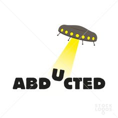 Abducted logotype by Molumen @stocklogos $180