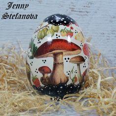 Decoupage by Jenny Stefanova Snow Globes, Decoupage, Christmas Bulbs, Eggs, Holiday Decor, Home Decor, Easter Activities, Decoration Home, Christmas Light Bulbs