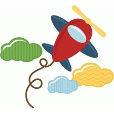 Silhouette Design Store - View Design #42731: toy airplane