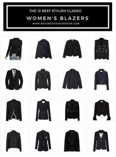 The 12 Best Stylish Classic Women's Blazers of 2019 Dress Up Jeans, Military Style Jackets, Double Breasted Blazer, Edgy Look, Blazer Fashion, Blazer Buttons, International Fashion, Military Fashion, Chic Outfits