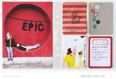 April Project Life | Epic by Catherine Davis at @Studio_Calico