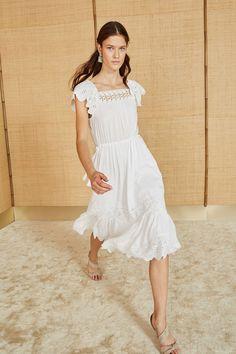 Opeline Dress - Blanc   Free Shipping on all U.S. Orders
