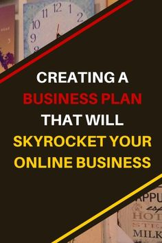 A serious business is in need of a plan to grow. As a solopreneur  blogger, it took me a while to figure out how to create my business plan. Now I'm sharing with you how to create a business plan that will skyrocket your online business. #business #blog #blogging