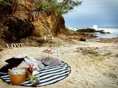 Love and the ocean by Deep Love Picnics.