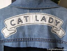 all cat ladies need to get this patch.
