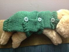 A special request Doggie sweater